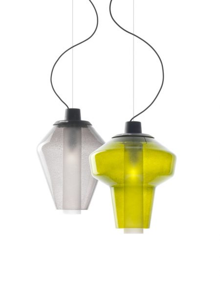 Diesel Metal Glass Suspension Lamp