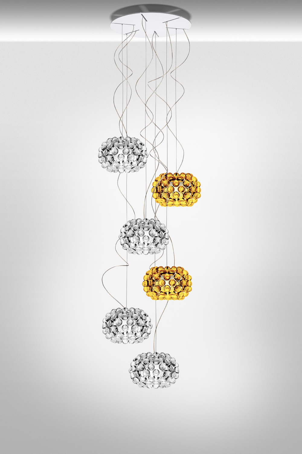Foscarini Caboche Suspension Light | buy from Campbell Watson UK