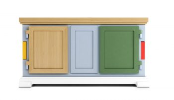 Moooi Paper Patchwork Buffet Sideboard