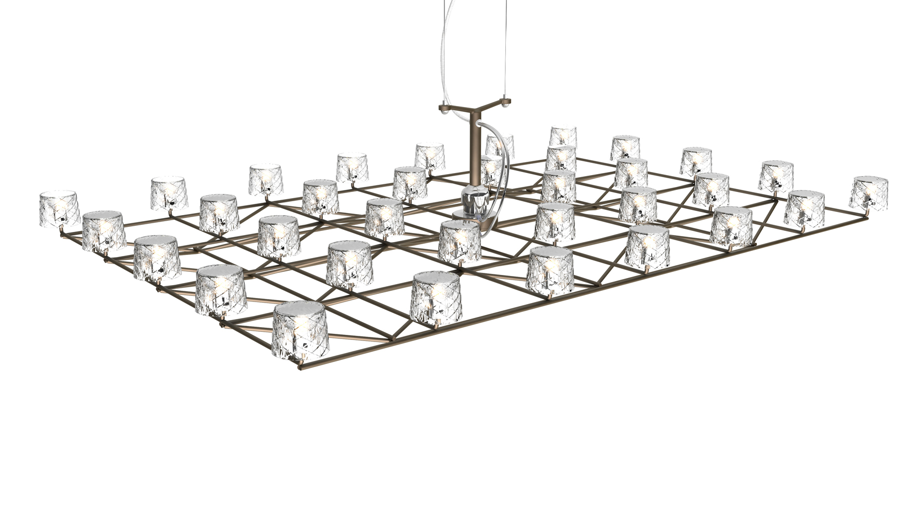 Moooi Space Frame Pendant Light | buy online Campbell Watson Store