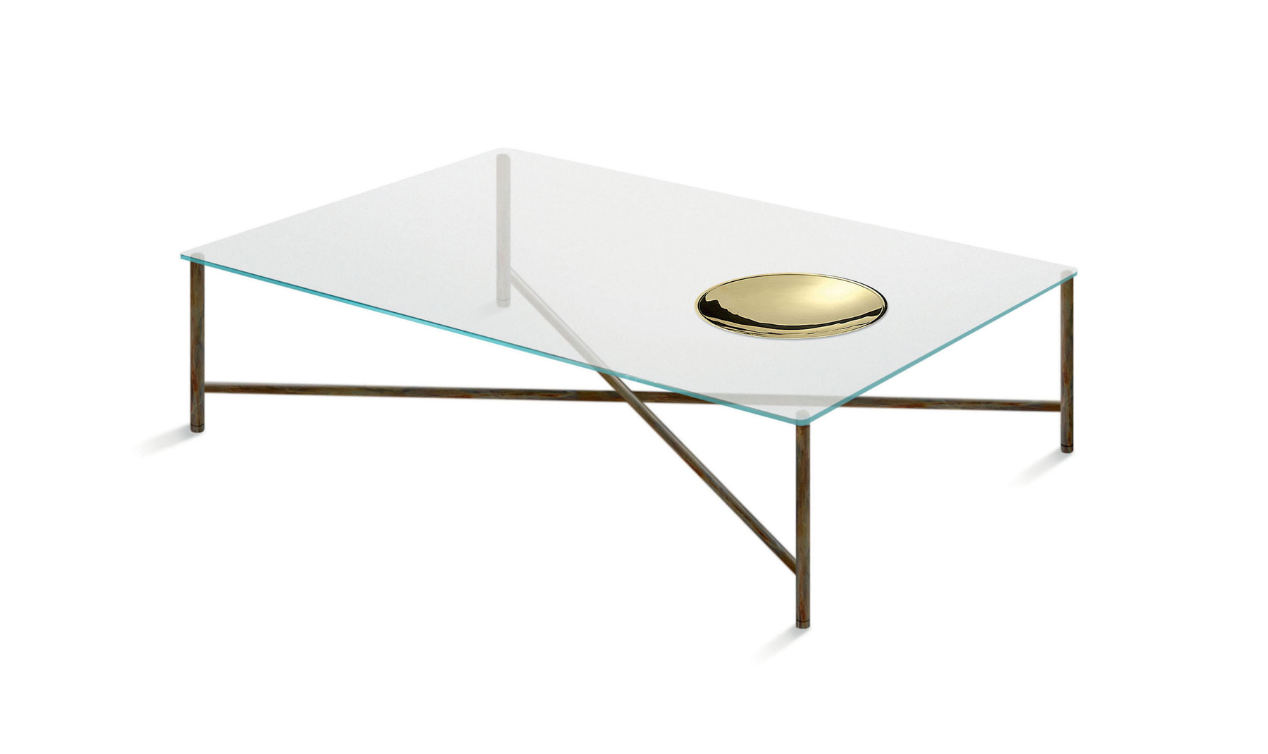 Gallotti & Radice Golden Moon Coffee Table