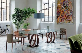 Infinity Oval Table